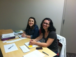 Workstudy students, Jessica Rost and Lizzie Wendt light up our office daily!
