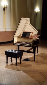 French double-manual harpsichord by Allan Winkler